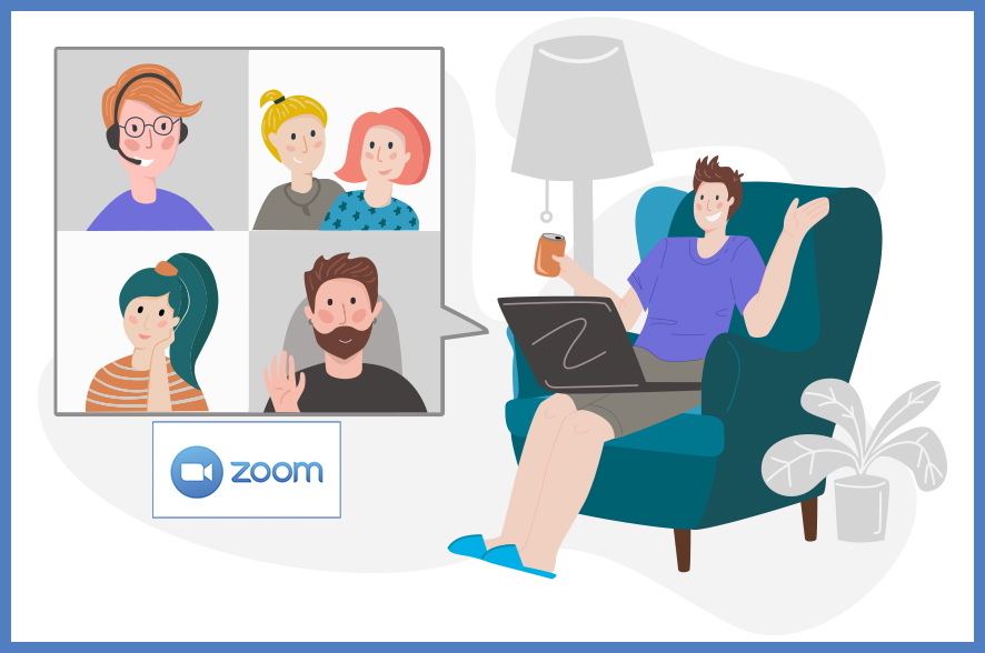 Virtual Networking via Zoom